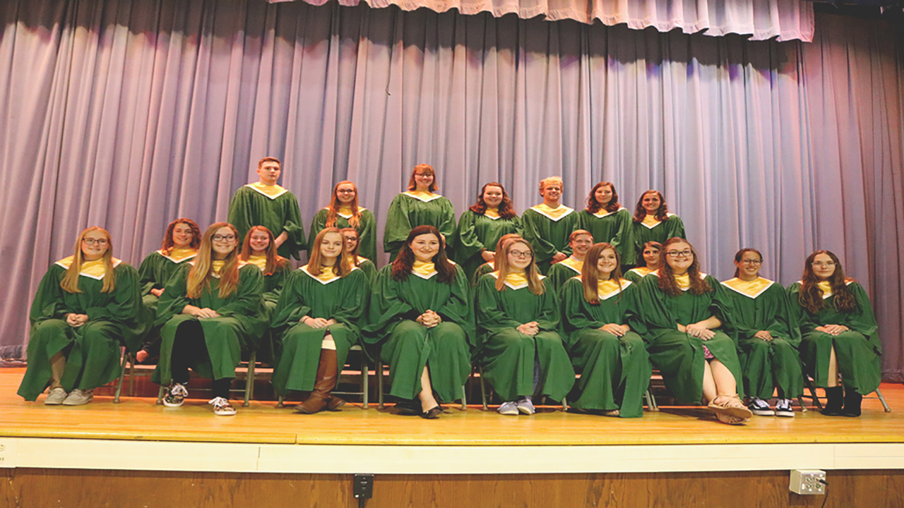 North Rose-Wolcott juniors inducted into National Honor Society