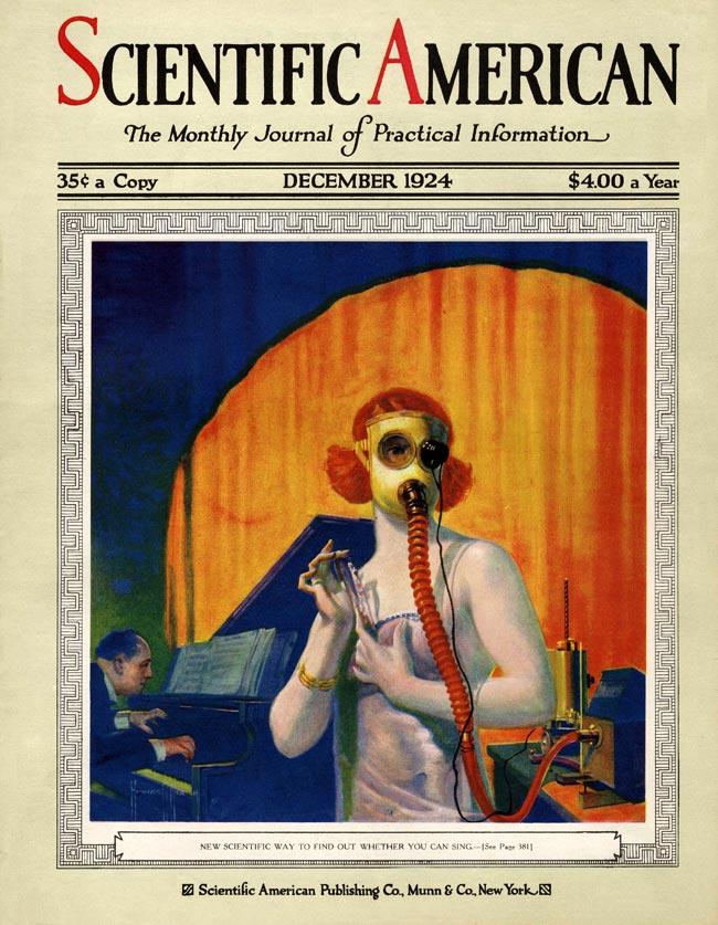 cover Scientific American December 1924