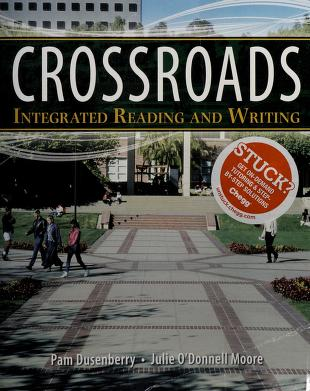 Cover of: Crossroads | Pam Dusenberry