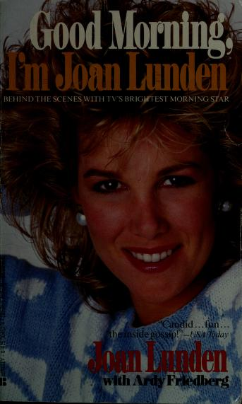 Cover of: Good Morning/joan | Joan Lunden