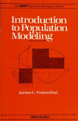 Cover of: Introduction to population modeling | J. C. Frauenthal