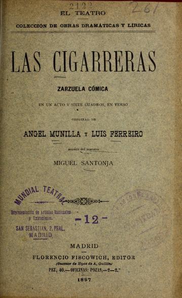 Las cigarreras by Miguel Santonja