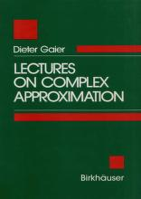 Cover of: Lectures on complex approximation