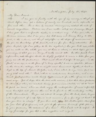 [Letter to] My Dear Friend by William Lloyd Garrison