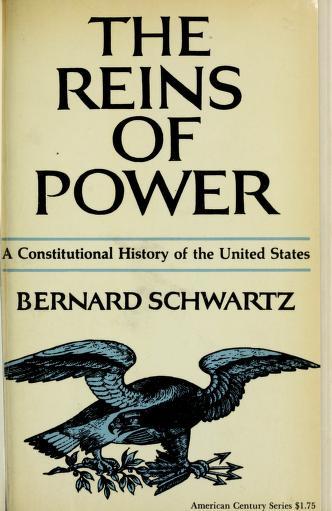 Cover of: The reins of power   Schwartz, Bernard