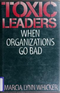 Cover of: Toxic leaders | Marcia Lynn Whicker